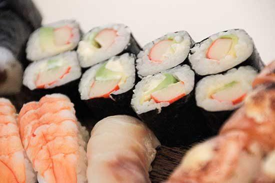 Boxes nostre producte sushi