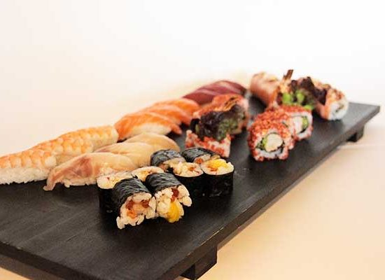 Luxury box en redsushi