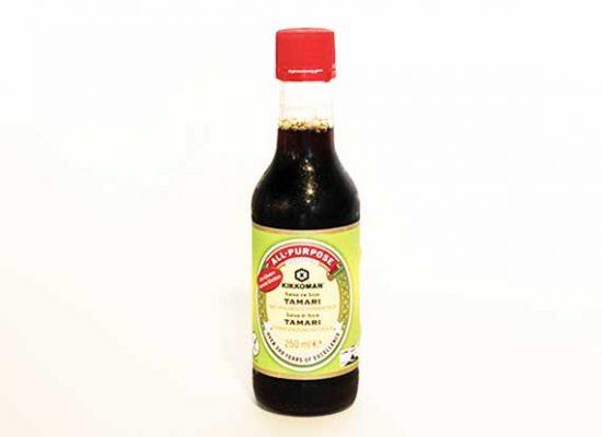 Salsa de soja Kikkoman en redsushi