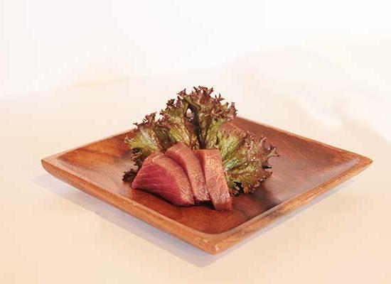 Sashimi de atun en redbar