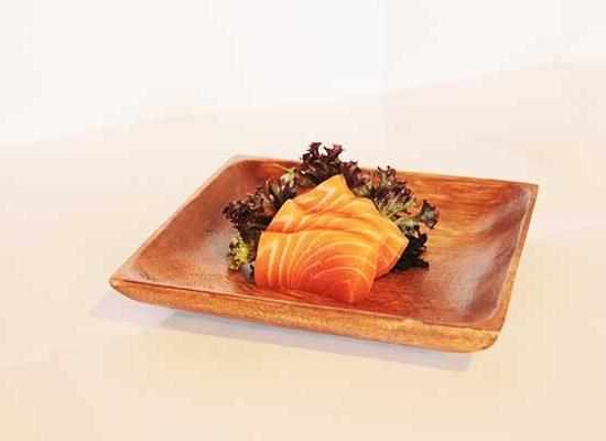 Sashimi de salmon en redsushi