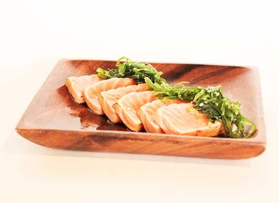 Tataki salmon a redsushi
