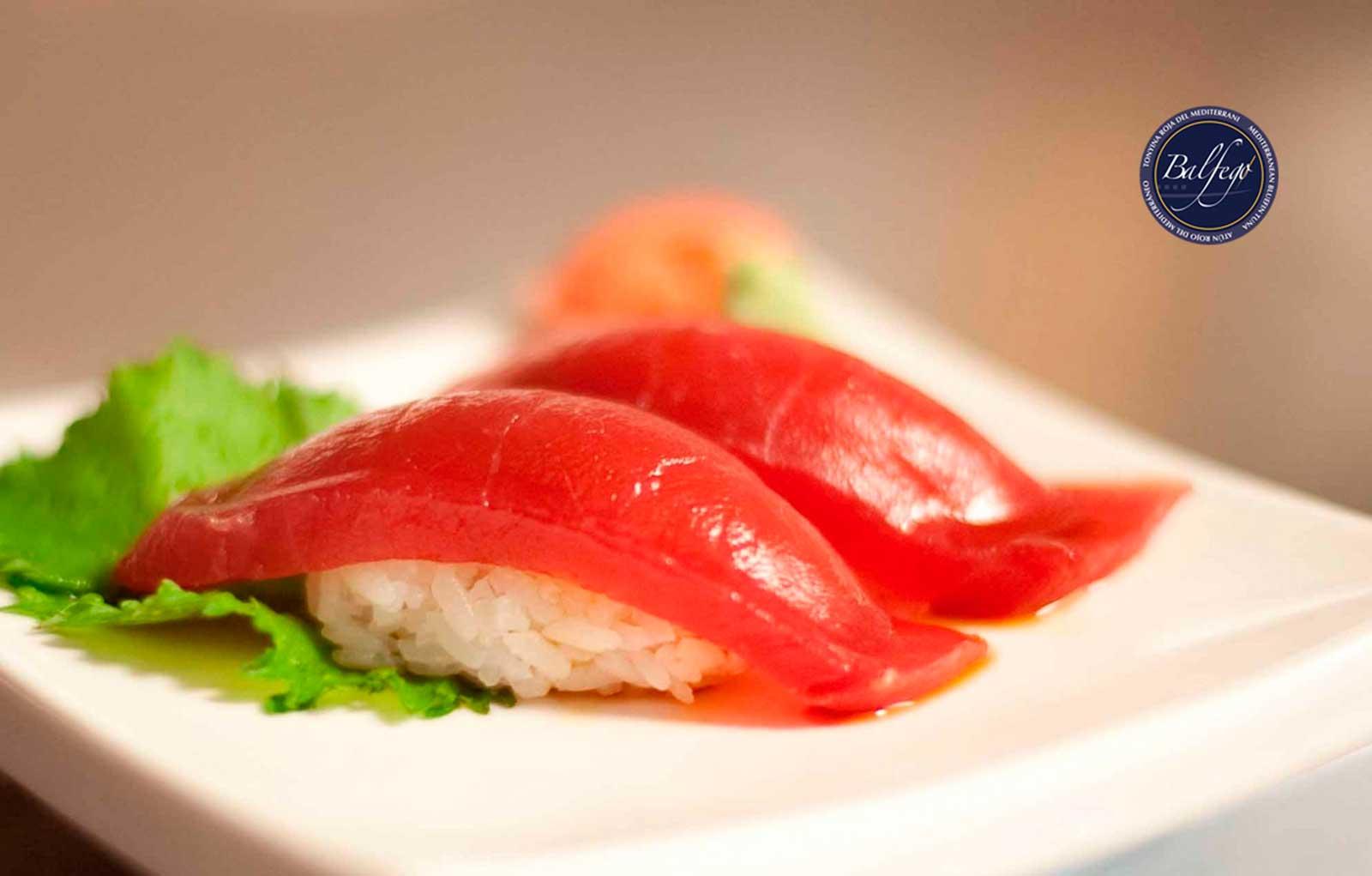 Sashimi atun fons redbar sushi